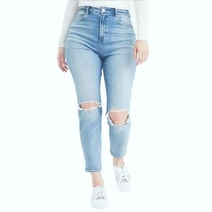 NWOT  AE  Ripped  MOM Jeans Size 24